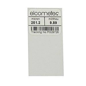 Calibration Foil | 10mil/250µm | ±1% Accuracy | Dim: 50x25mm