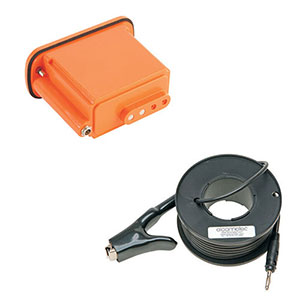 Image - Holiday Detector Batteries, Chargers & Earth Signal Return Leads